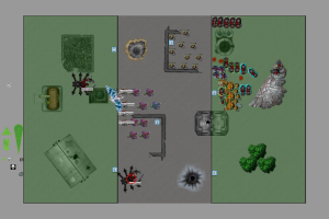 Chaos Daemons vs Scarstar Tau T,5