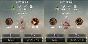 Dawn Of Titans Battle Comparison